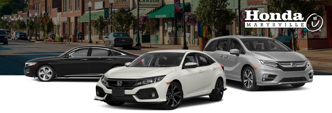 Honda Civic Lease Deals Honda Marysville